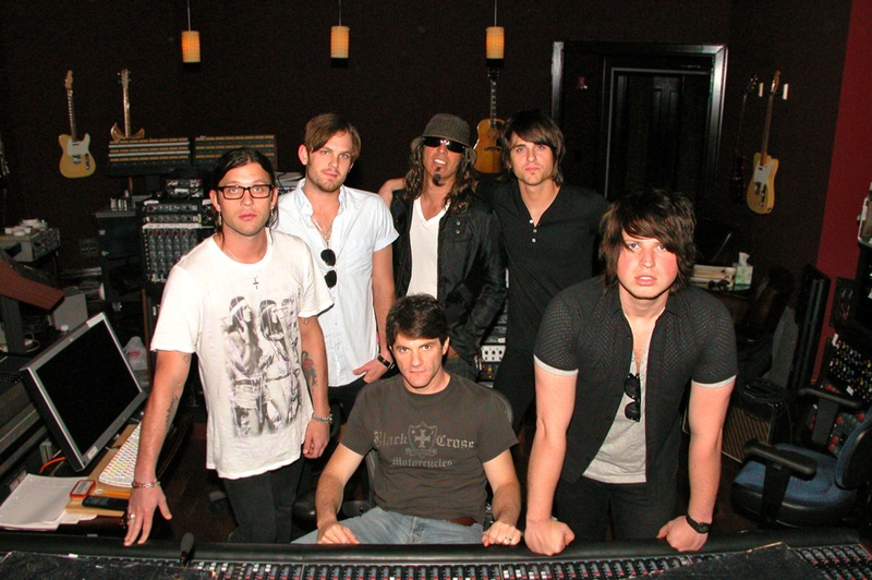 With OBTN Producers: Angelo Petraglia and Jacquire King | Blackbird Studios, Nashville (2008)