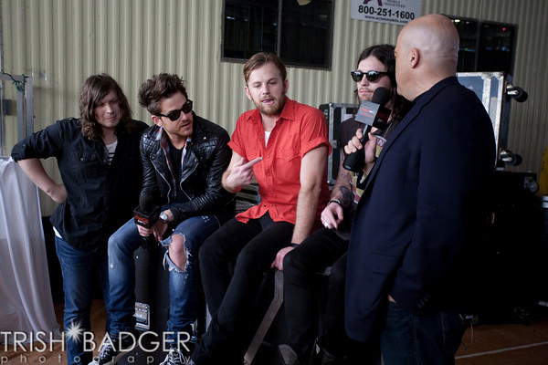 Backstage, Coke Zero Final Four Countdown Concert (02 Apr 11)