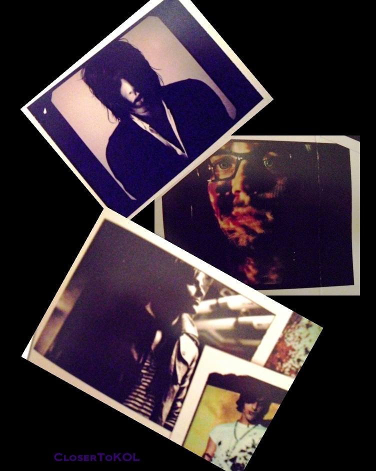 Polaroids from the cover art shoot for BOTT. Shot in Nashville (23 Jan 07)