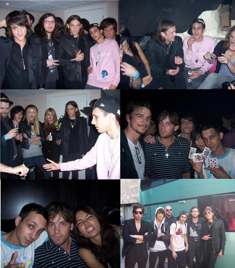 KOL with Dynamo The Magician, Josh Hartnett, Chrissie Hynde & Lily (2007)
