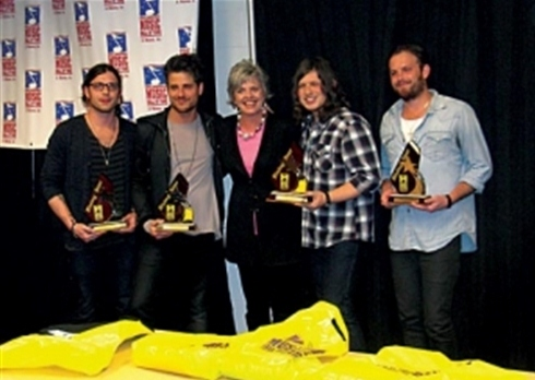 Oklahoma Music Hall of Fame's Rising Star Award (08 Apr 11)
