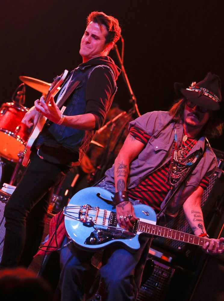 Jared & Johnny Depp | Petty Fest West, LA (14 Nov 12)