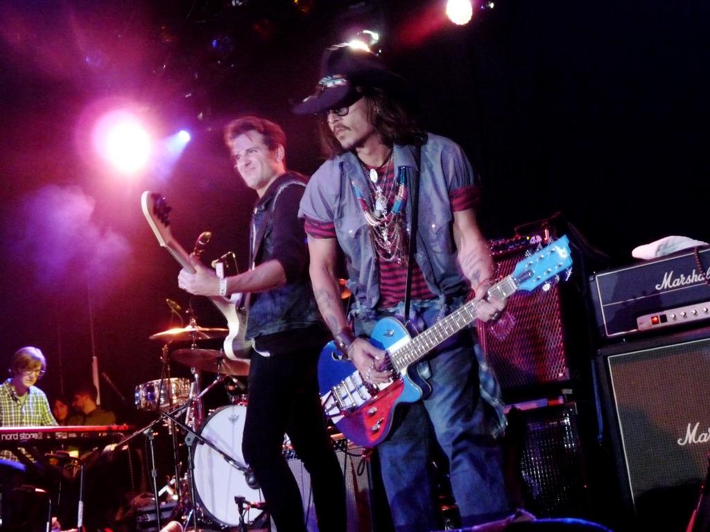 Jared & Johnny Depp   Petty Fest West, LA (14 Nov 12)
