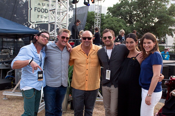 Nathan, Tim Love, Andrew Zimmern, Caleb, Lily and Gail Simmons |Austin Food and Wine Festival (27 Apr 11)